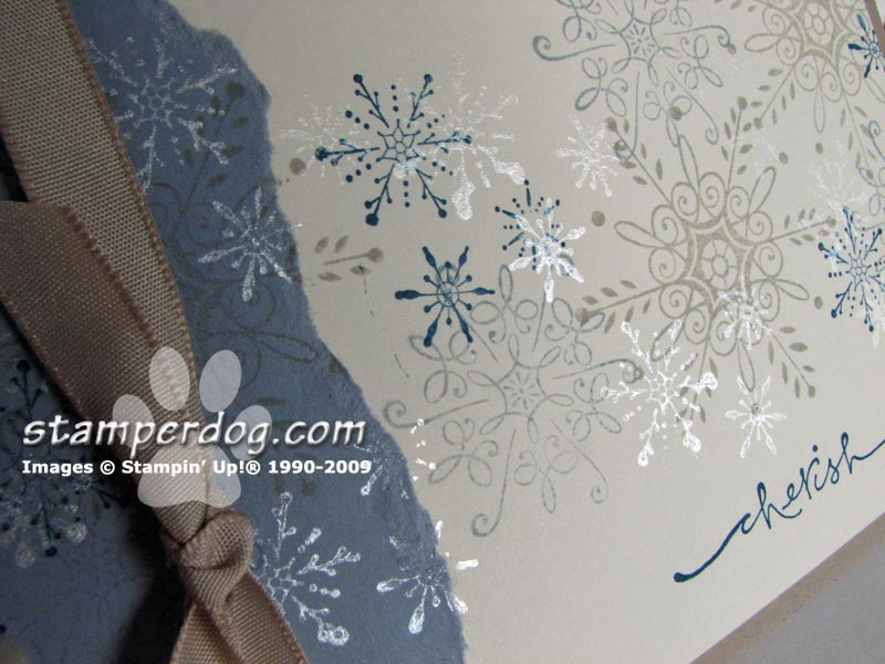 Stampin' Up! Serene Snowflakes