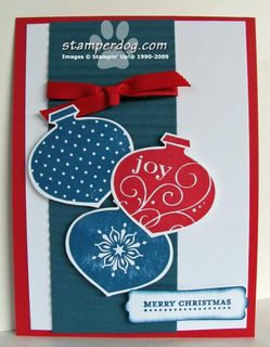 Stampin' Up! Ornaments